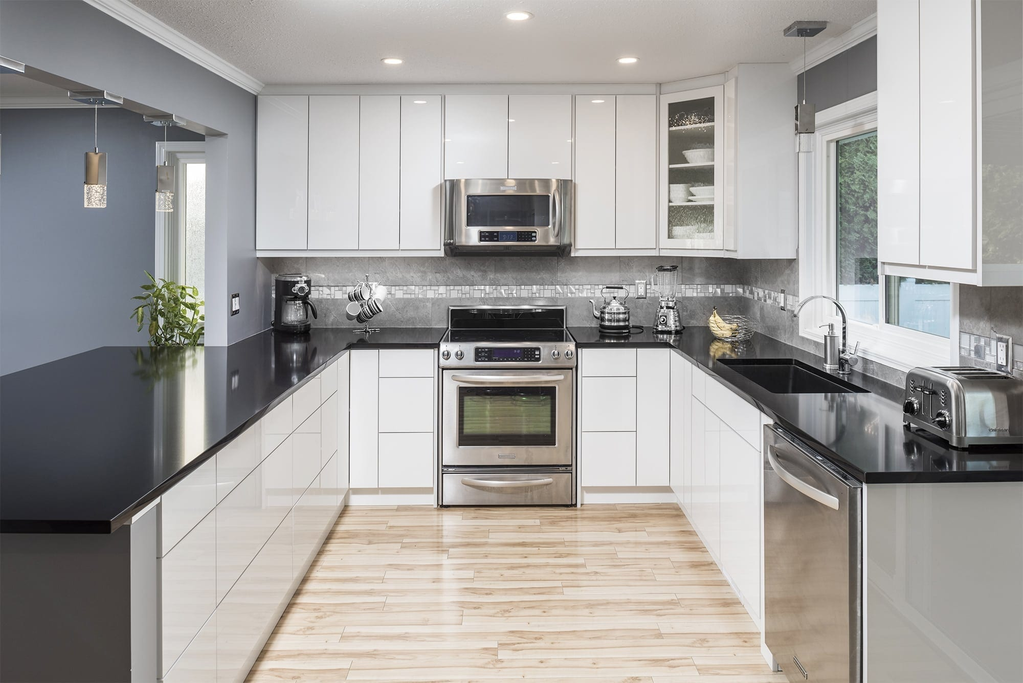 Master Painting and Renovations Chilliwack Kitchen Renovation Contractor Interior House Painting Abbotsford