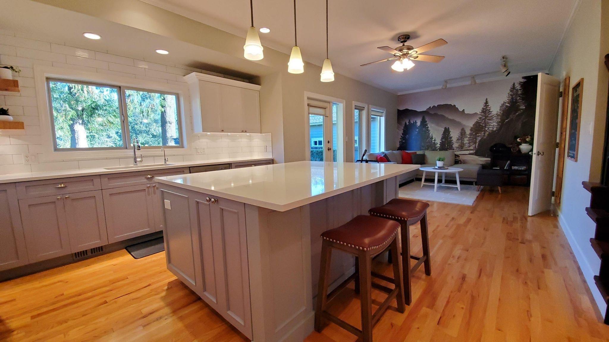 Master Painting & Renovations After Kitchen Renovation